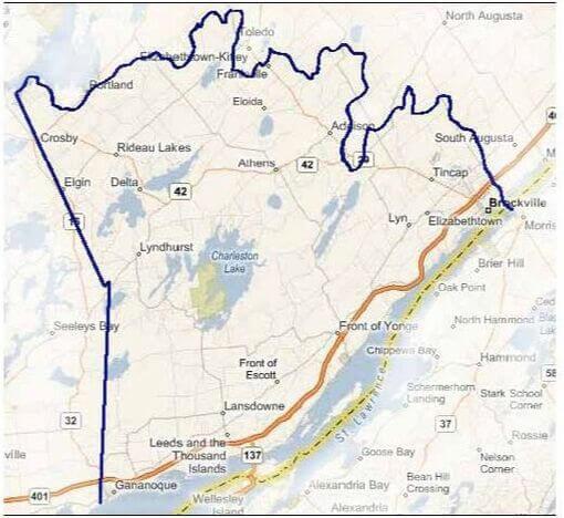 TIWLT boundary map